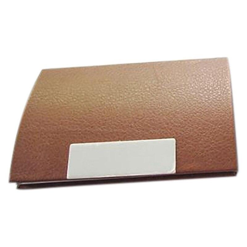 Business Card Credit Card Holder Card Case - Brown