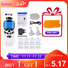 8Models Electric herald Tens Muscle Stimulator EMS Acupuncture Body Massage Digital Therapy Machine Electrostimulator HealthCare
