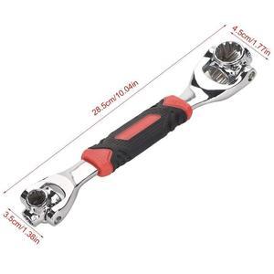 Image 5 - Clé dynamométrique universelle tigre, clé tigre en 1 clé dynamométrique universelle 12 dents douille de la clé magnétique