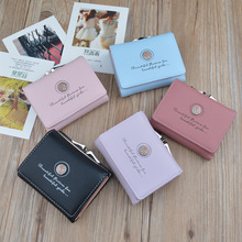 2019 New Simple Ladies Mini Wallet Retro Flowers Short Coin Purse Female Students Tri-fold Wallet Credit Card Bag Women Wallet