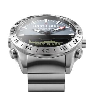 Image 3 - גברים שעונים צלילה צפון קצה שעוני יד ספורט 10 ברים עמיד למים נירוסטה שעון relogio masculino מצפן שעון Mens