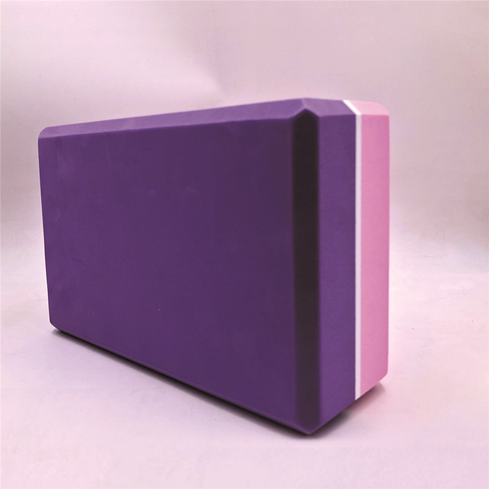 High Quality Pilates EVA Yoga Block Brick Sports Exercise Gym Foam Workout Stretching Aid Body Shaping Health Training for women