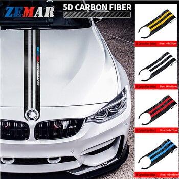 De fibra de carbono adhesivo para capó de vehículo calcomanías para BMW X1 X2 X3 X4 X5 X6 X7 Z4 E84 F48 F39 G01 F26 G02 E53 E70 F15 G05 F16 G06 G07 E89 E85