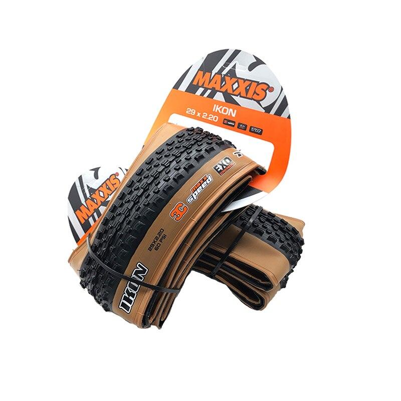 Бескамерные Складные шины Maxxis IKON 3C EXO TR 27,5 × 2,2 29 × 2,35 27,5/29 дюймов, шины для горного велосипеда с протектором XC