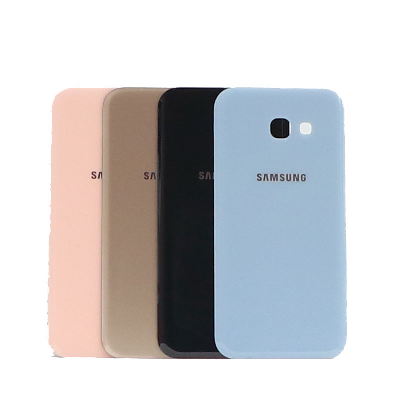 For Samsung Galaxy A5 2017 A520F SM-A520F A520 Mobile Phone Back Battery Cover Case Glass Rear Housing Back Cover Replacement