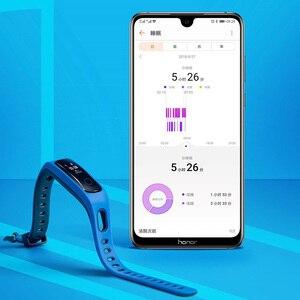 Image 3 - Oryginalny Huawei Honor Band 4 wersja do biegania inteligentna opaska na nadgarstek klamra do butów wpływ na ziemię profesjonalna porada snu Snap