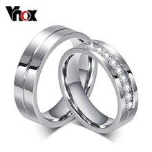 Обручальное кольцо для мужчин и женщин нержавеющая сталь 316l