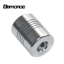 цена на Bemonoc CNC Flexible Coupling Shaft Coupler Stepper Motor Connector Aluminum Alloy Coupler Flexible Couplings For 3D Printer