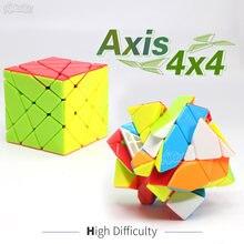 Головоломка Fanxin Axis 4x4, без наклеек, магические кубики, профессиональный, креативный, развивающий, для детей(China)