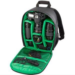Image 4 - Đa Chức Năng Ba Lô Video Kỹ Thuật Số DSLR Túi Chống Nước Ngoài Trời Ảnh Túi Dành Cho Nikon/Dành Cho Canon/DSLR