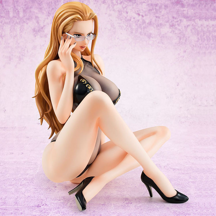 12cm Anime Figure One Piece MegaHouse MH POP CP9 Kalifa Bikini Sexy Girl Action Figure Toys Adult Anime Collection Model Toy