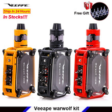 Elektronische Sigaret Veeape Warwolf 150 W Pod Vape Kit Laser Squonk Doos Mod Vape Kit 3500 Mah Batterij Damp Vs somant Pasito Kit