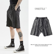UNSETTLE 2020SS Summer High street Men shorts kanye west Ret