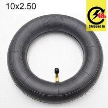 10X2.50 Inner Tube 10x2.5 Tube Innertube with bent valve 45 90 Degree valve for Baby Stroller Pram Scooter 10 Inch