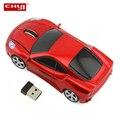 CHYI Беспроводная Спортивная Автомобильная мини-мышь USB оптическая 3D мышь 1600 dpi игровая компьютерная мышь для ПК ноутбука детские подарки