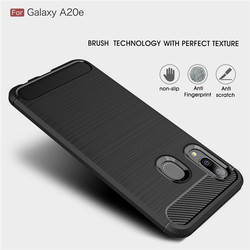 На Алиэкспресс купить чехол для смартфона carbon fiber protection case for samsung galaxy a20e 2019 silicone bumper soft cover for a20 a30 wide4 jean2 xcover pro a31