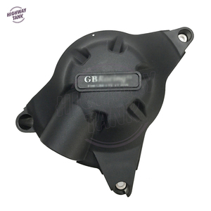 Image 4 - אופנועים מנוע כיסוי מגן מים משאבת מכסה מקרה עבור GB מירוץ עבור ימאהה YZF600 R6 2006 2020