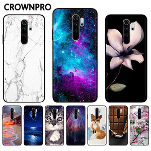 Phone Case FOR Xiaomi Redmi Note 8 Pro Case Silicone Bumper Back Soft Cover Redmi Note 9 9S 9 S 8 PRO Note8 Pro 8T 8 T 8A Fundas(China)