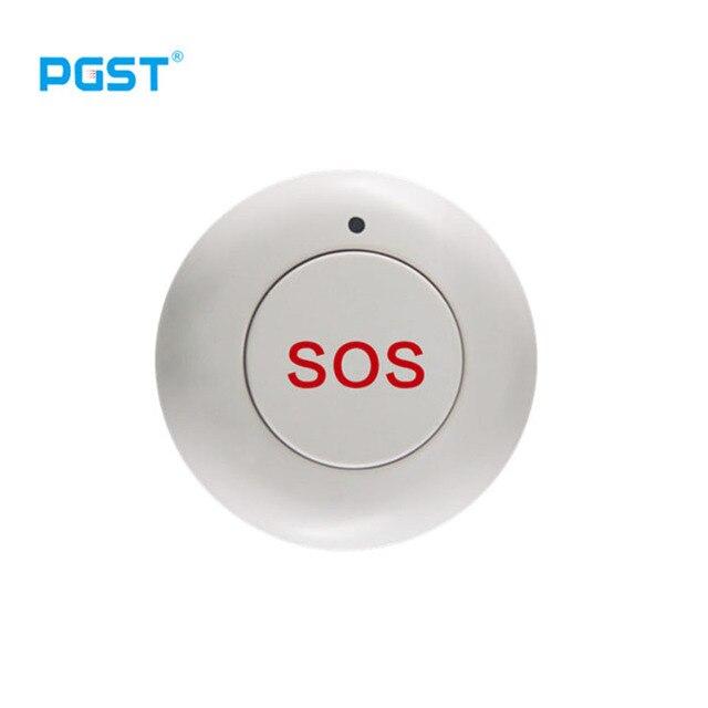 אלחוטי SOS כפתור חירום כפתור לעזרה Gsm מערכת אזעקת SOS כפתור עבור חירום