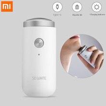 SOOCAS ED1 Elektrische Rasierer Mini tragbare razor USB Aufladbare bart trimmer waschbar für männer Trocken Nass Rasieren