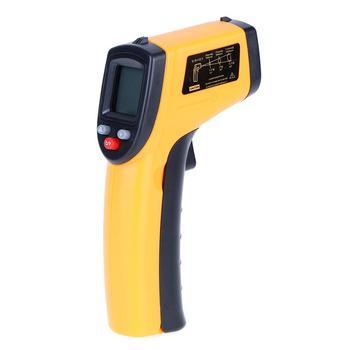 GM320 Digitale Termometro UN Infrarossi Pirometro Acquario Termometro Laser Esterno Termometro un INFRAROSSI del Punto del Laser