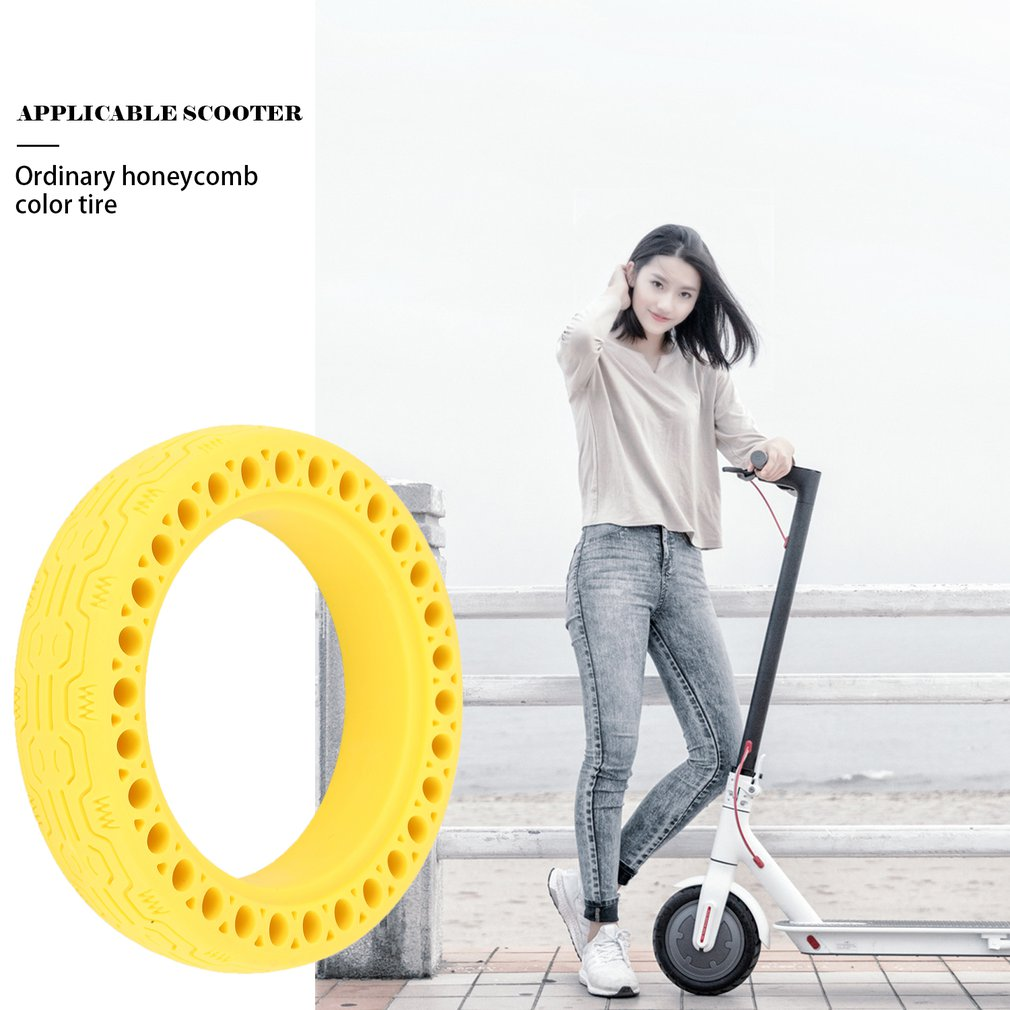 Durable Scooter Tyre Anti-Explosion Tire Tubeless Solid Tyre For Xiaomi Mijia M365/Ninebot Electric Scooter Drop Shipping