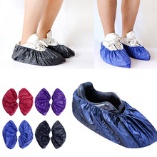 1 Pair Reusable Waterproof Non-slip Fashion Shoe Cover Unisex Rain Overshoes Anti-slip Covers Boot