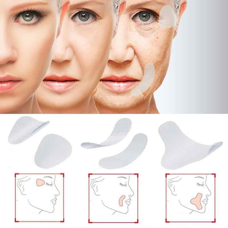 3 Size Invisible Thin Face facial Stickers Facial Line Wrinkle Sagging Skin V-Shape Face Lift Tape Scotch for Face
