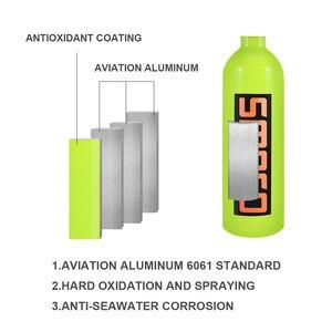 Image 2 - SMACO S400/S400Plus мини оборудование для ныряния с аквалангом, цилиндр с 16 минут, 1 литр емкости многоразового дизайна