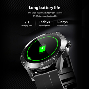 Image 3 - 15Days Long Battery Life Smart Watch Men Full Touch Screen Waterproof Smartwatch For Android IOS Fitness Tracker Message Remind