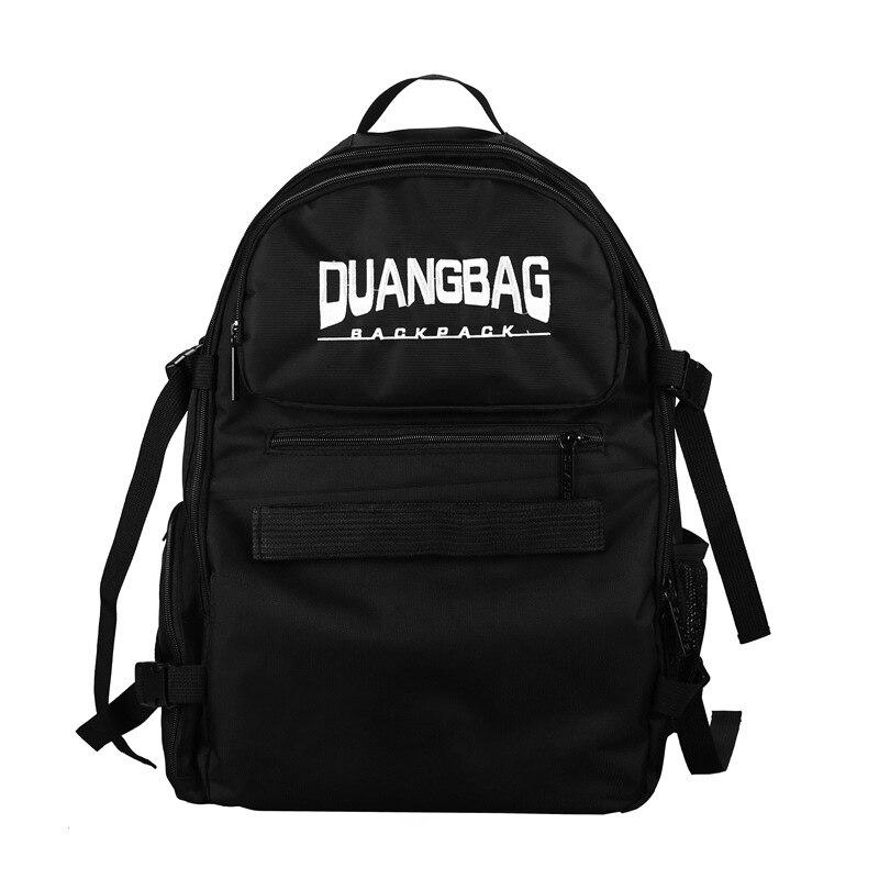 Chinese Freestyle Shoulder Backpack Parkour Hip Hop Double Rocker Portable Skateboard Backpack Oxford Longboard Bag Boys Girls