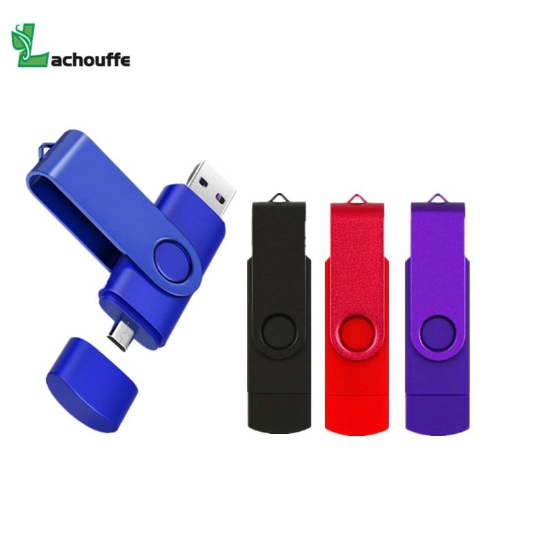 USB Flash Drive OTG High Speed Drive 64 GB 32 GB 16 GB 8 GB 4GB External Storage Double Application Micro USB Stick