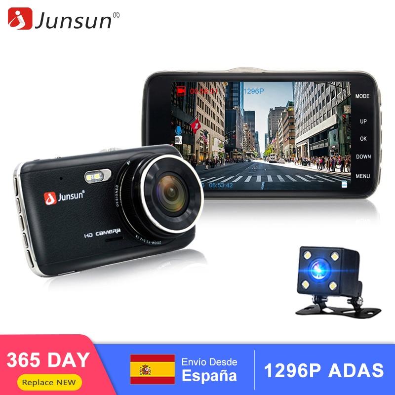 Junsun H7 Car DVR Camera Dual Lens 4.0
