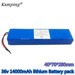 36V 14ah akumulator do roweru elektrycznego 18650 akumulator litowo-jonowy 10S3P 600W o dużej mocy i pojemności 42V m365 ebike skuter rowerowy