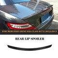 Спойлер заднего крыла автомобиля из углеродного волокна для Mercedes Benz R172 SLK 2012-2013 задний спойлер багажника