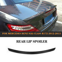 Carbon Fiber Car Rear Wing Spoiler For Mercedes Benz R172 SLK 2012 2013 Rear Trunk Lip Spoiler