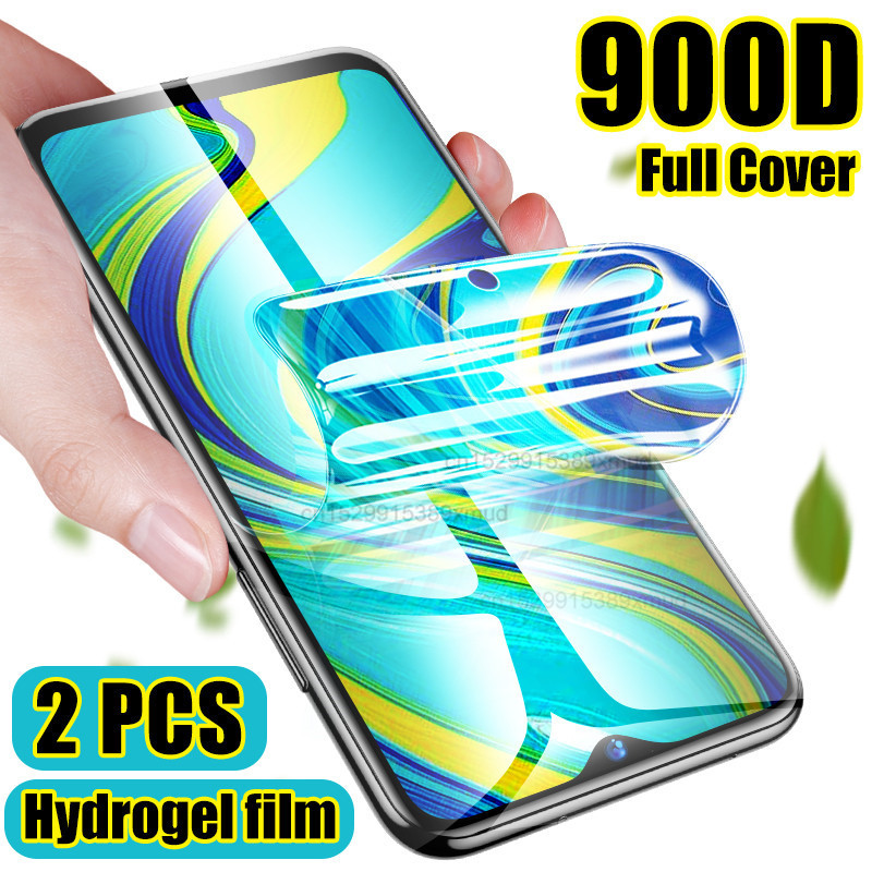 1/2PCS Screen Protector For Xiaomi Redmi Note 9s 9 8 7 Pro 8T 7A 8A not Tempered Glass Redmi 7 7A 8 6 Note 9s 9 Hydrogel Film(China)
