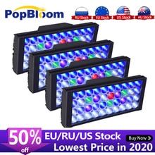 PopBloom lumière corallienne à Led Marine pour Aquarium, lampe pour Aquarium deau salée, MJ3BP4