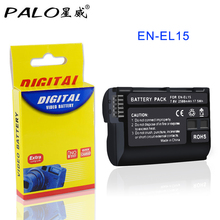1-4PCS EN-EL15 EN EL15 ENEL15 battery 2500mAh for Nikon DSLR D500 D600 D610 D800 D800E D810 D7000 D7100 D7200 l15 etc 2x decoded en el15 bateria enel15 en el15 camera battery for nikon d500 d600 d610 d750 d7000 d7100 d7200 d800 d850 d810 d810a