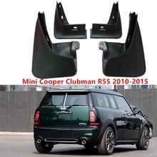4Pcs  Splash Guards Mud Flaps Front & Rear Mudguards Car Fenders For MINI R55 CLUBMAN 2010-2015