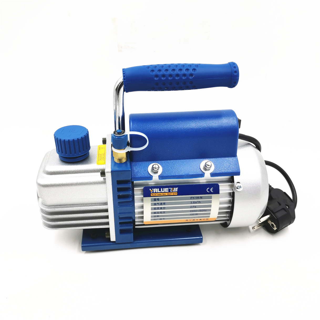 FY 1H N Мини Портативный Воздушный вакуумный насос 2PA Окончательный вакуум для ламинатора и сепаратора ЖК экрана 150 Вт 220 В