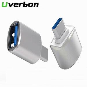 Image 1 - Typ C Adapter USB C zu USB 3,0 Konverter Telefon OTG Kabel für Samsung S8 S9 Hinweis 8 Huawei Mate 9 P20 Xiaomi Handy Stecker