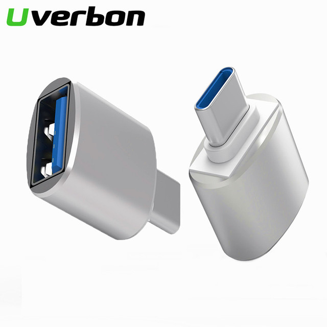 Typ C Adapter USB C zu USB 3,0 Konverter Telefon OTG Kabel für Samsung S8 S9 Hinweis 8 Huawei Mate 9 P20 Xiaomi Handy Stecker