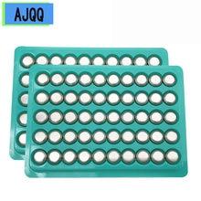 Batterie bouton pour montre, 100 pièces, AG10 1.55V, LR1130 1130 SR1130 389A LR54 L1131 189 389A, nouveau