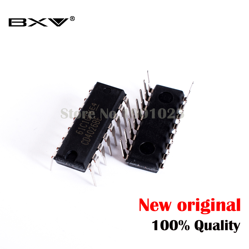 10PCS CD4026BE DIP CD4026 DIP16 HEF4026BP DIP-16 HCF4026BE new and original IC In Stock image