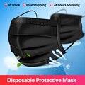 Маски от пыли и газа 10-200 шт., маски для лица, маска для лица, маска, тушь для ресниц, маска от капель, маска для лица одноразовая маска для лица