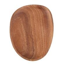 Lovesicking madeira irregular placa de madeira maciça pan pratos de frutas pires bandeja de chá sobremesa placa de jantar utensílios de mesa, 16x13cm