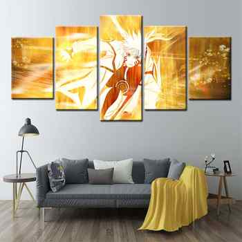 Naruto Poster Popular Classic Japanese Anime Wall Art Canvas Painting Nostalgia Posters Home Dorm Boys Room Home Decor - DISCOUNT ITEM  49% OFF All Category