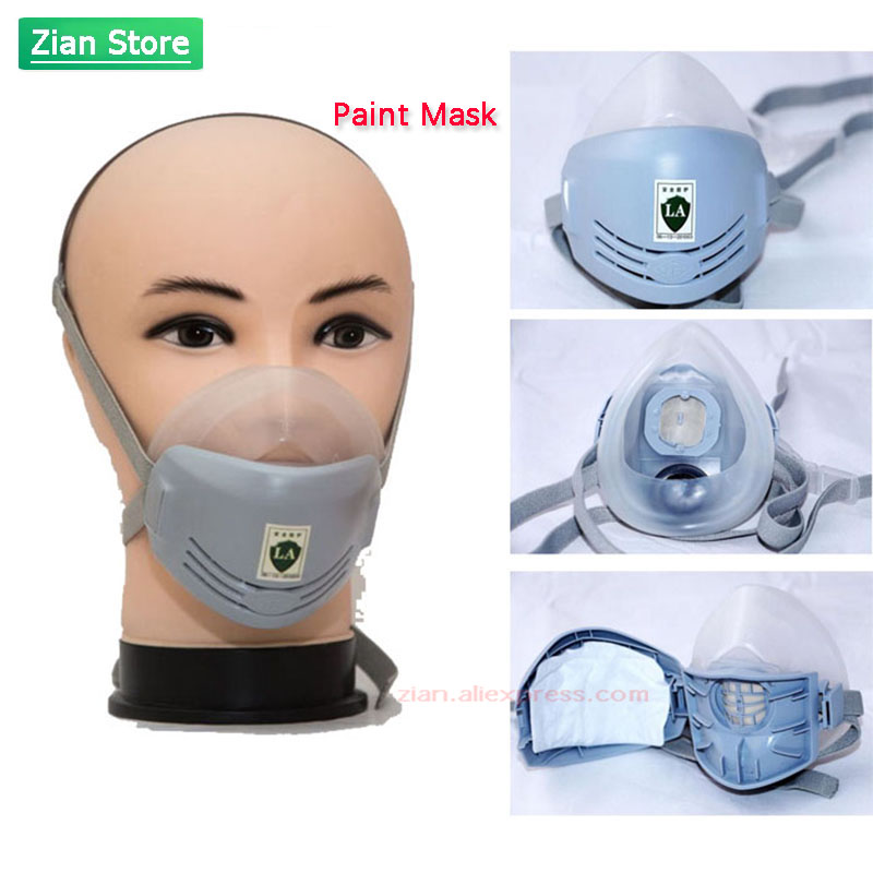 Industry Paint Mask Anti-dust Respirator Dust Mask Filters Polishing Industrial Paint Spray Decorate Protective Workplace Safety