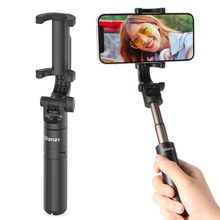 Ulanzi MT 38 Mini Tripod for Phone 360° Rotatable Phone Clip Tripod for VLOG Phone Selfie Foldable Mini Portable Tripod